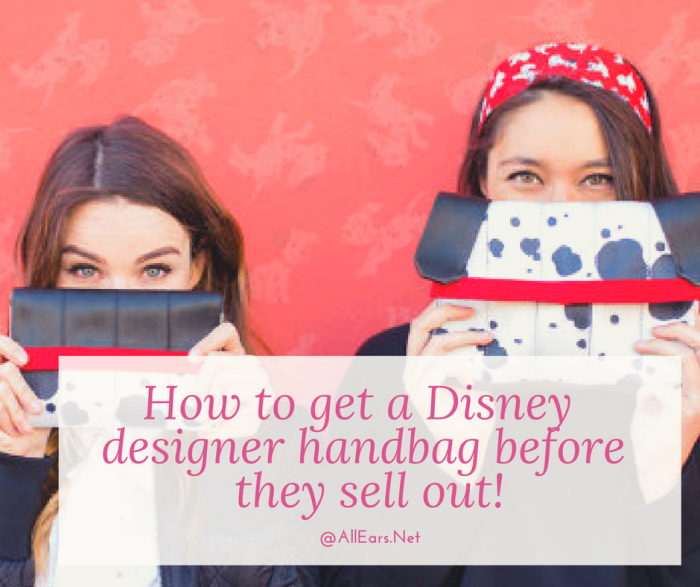 How to get a Disney designer handbag before they sell out!