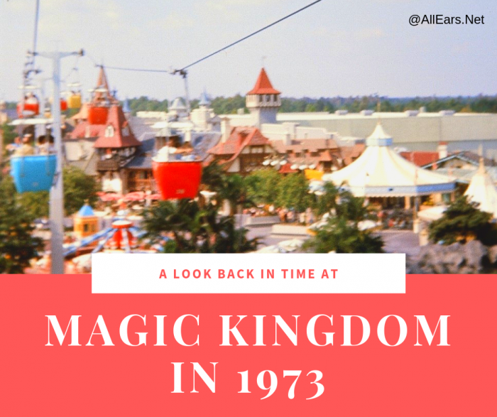 Magic Kingdom in 1973