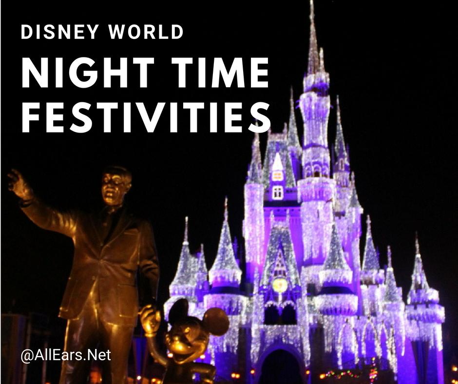 Nighttime Fun Ideas At Walt Disney World Allearsnet