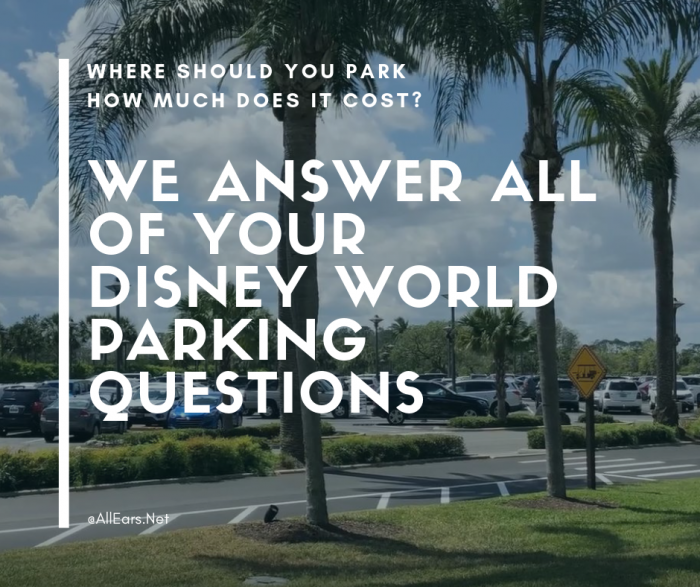 Disney World Parking Info