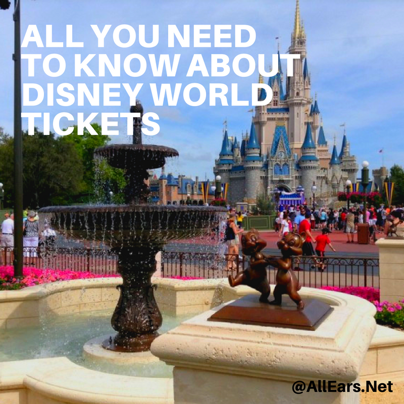 Wdw Ticket Faq Allearsnet