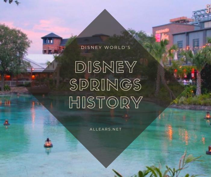 Disney springs history