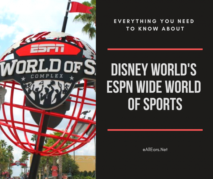 Disney World's ESPN World Of Sports