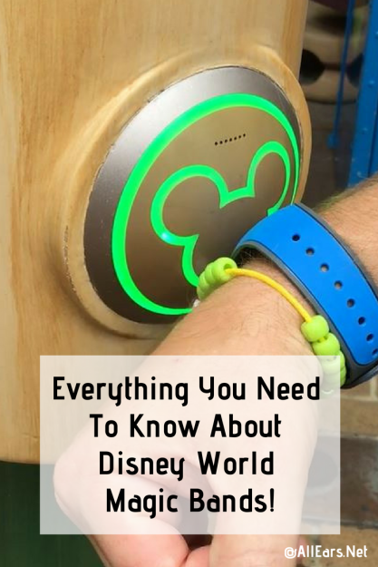 Everything You Need To Know About Disney Magic Bands!