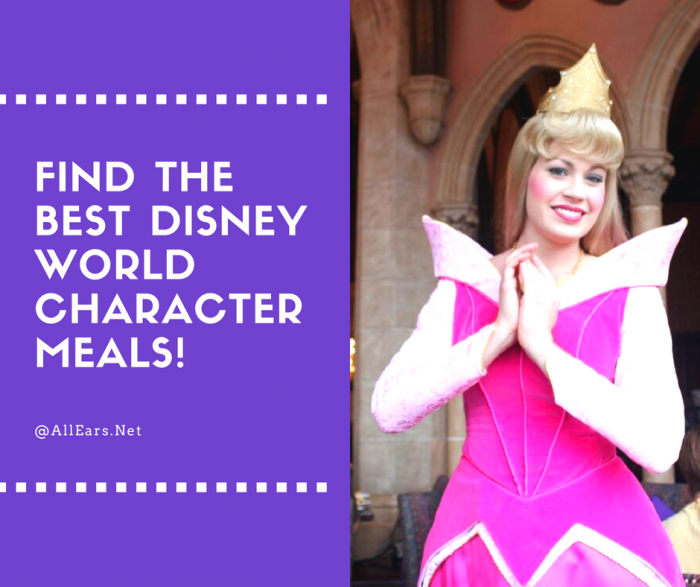Find the best disney world character meals!