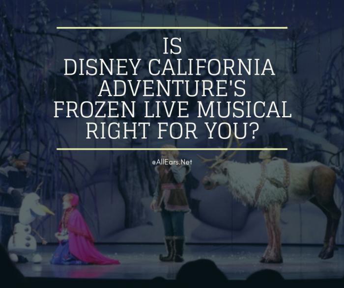 Disneyland Frozen Live Musical