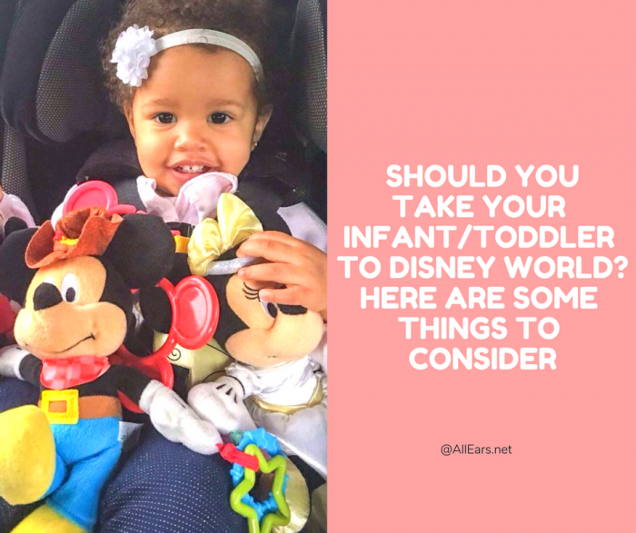 Going to disney world with infants or toddlers