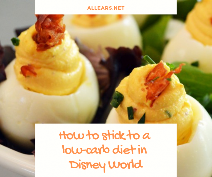 Disney World low-carb diet