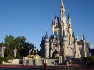 Cinderella Castle in the Magic Kingdom