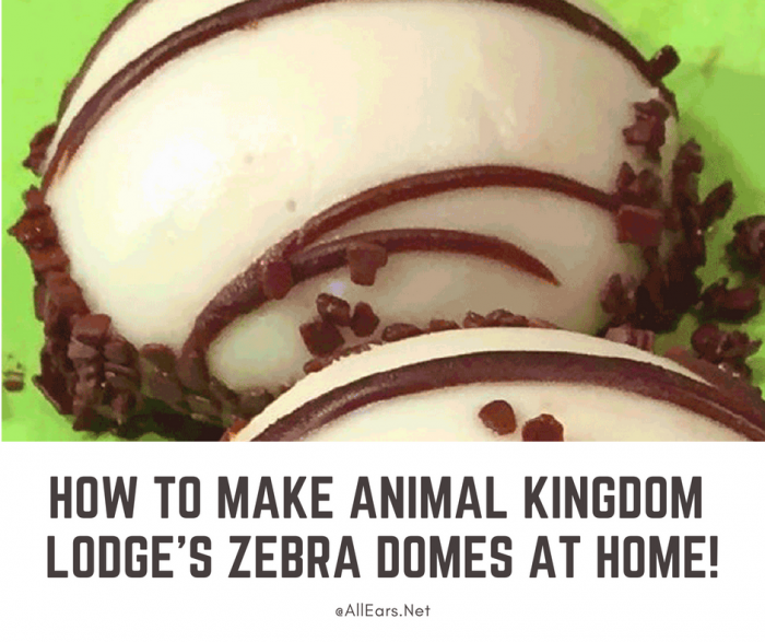 Boma's Zebra Domes Recipe