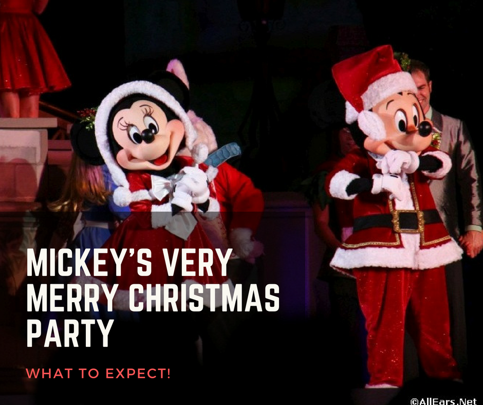 mickeys very merry christmas party allearsnet - Mickeys Christmas