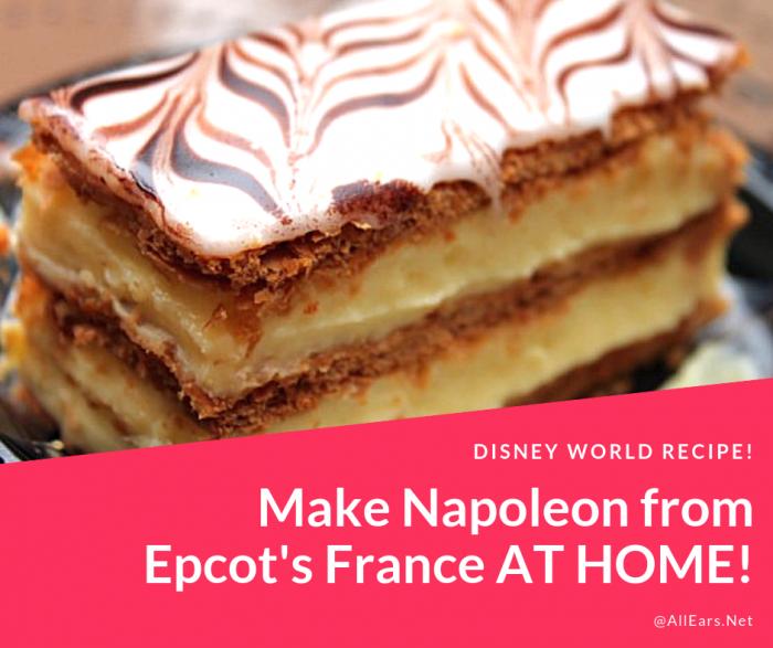 Disney World Napoleon Recipe