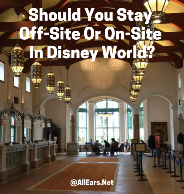 Off-Site of On-Site at Disney World