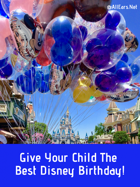 Give Your Child The Best Disney Birthday
