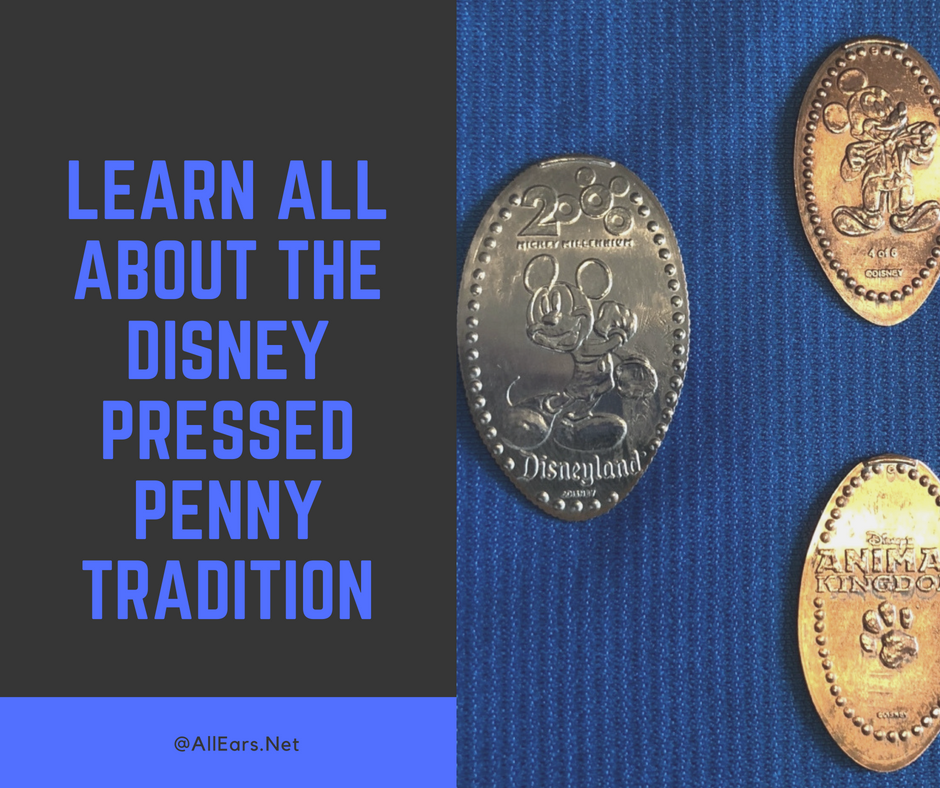 Pressed Pennies and Quarters at Walt Disney World - AllEars Net