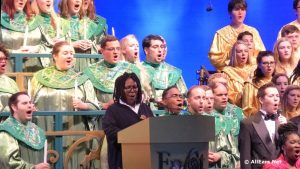 Whoopi Goldberg at the Epcot Candlelight Processional