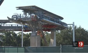 Disney Skyliner Construction