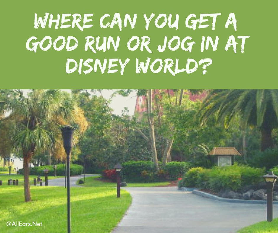 Running/Jogging Trails and Tips - AllEars.Net on disney rides, disney resorts and grounds, disney events, harry potter grounds map, carnival grounds map,