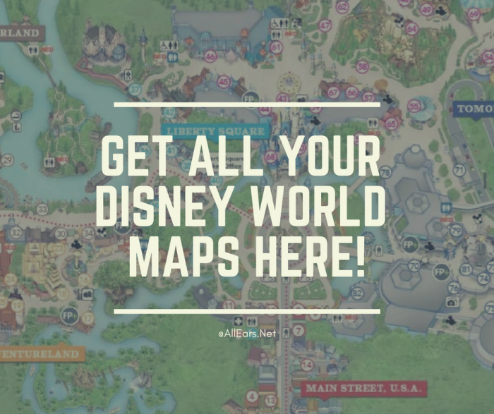 picture regarding Printable Magic Kingdom Map referred to as Walt Disney World-wide Topic Park Maps - AllEars.World-wide-web