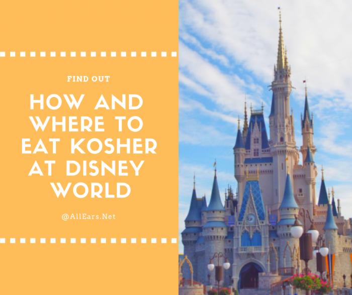 Eating kosher at disney world