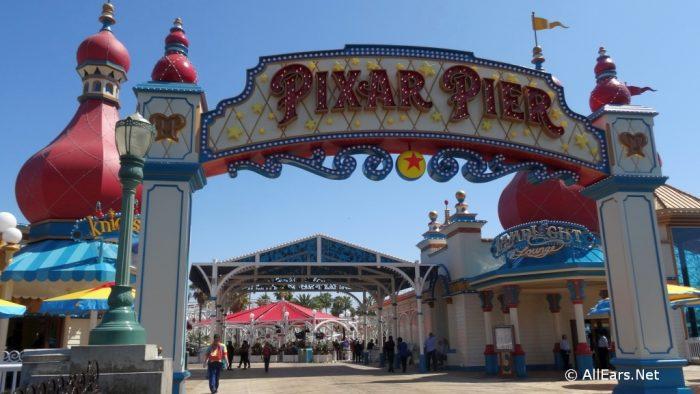 Disneyland Resort's Pixar Pier