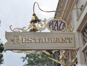 Plaza Restaurant in Magic Kingdom