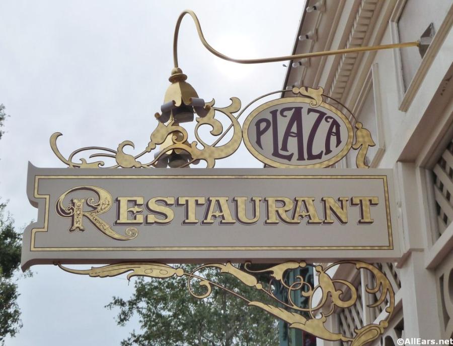 Plaza Restaurant in Magic Kingdom