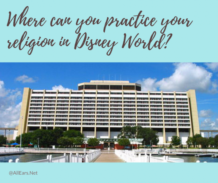 Disney World religious services
