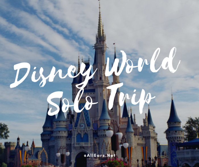 Disney World solo trip