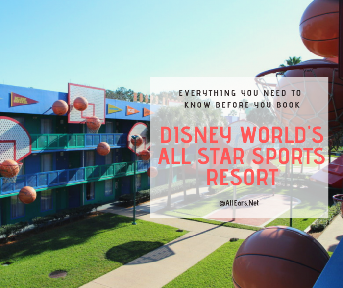 Disney World's All Star Sports Resort