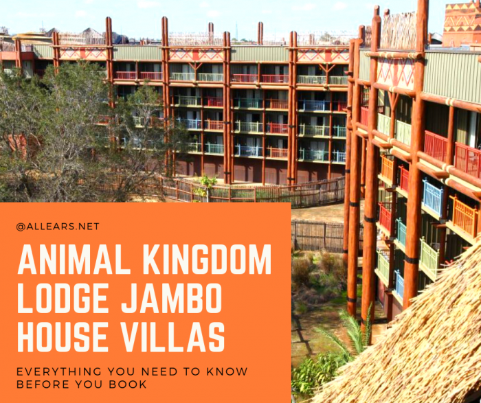 Animal Kingdom Jambo House Villas