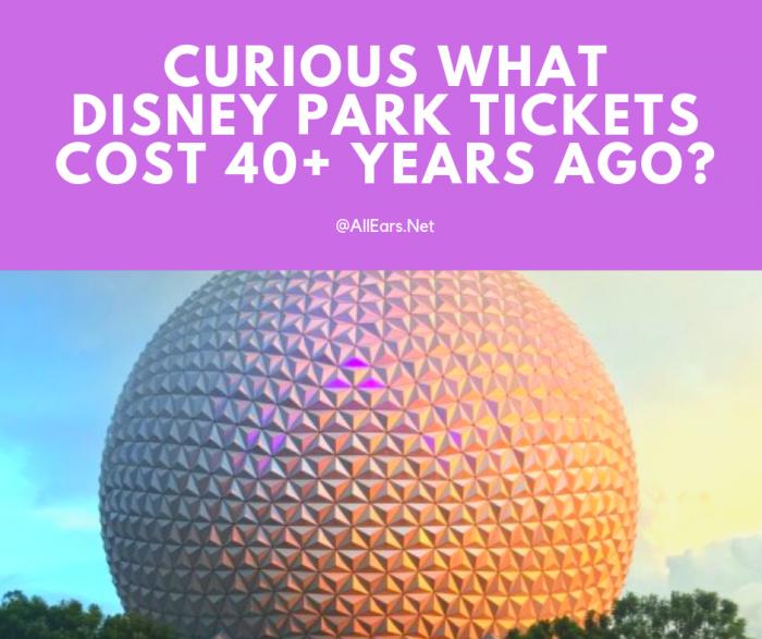 Disney World Historical Ticket Prices