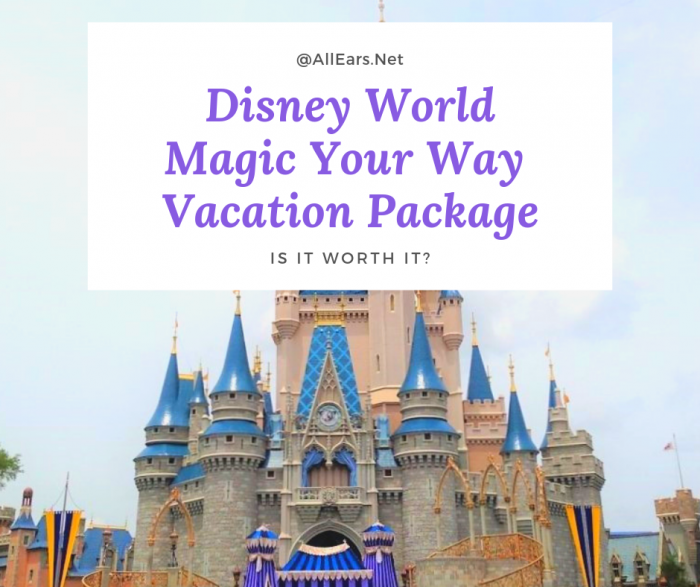 Disney World Magic World Way Package