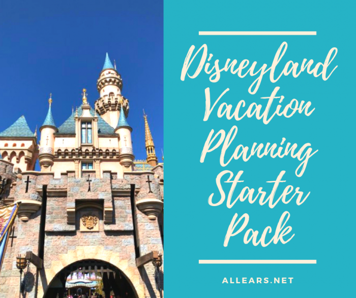 Disneyland Vacation Planning Starter Pack