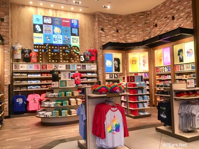 ce1744d28 First Look: Sneak Peek at the NEW World of Disney Store in Disneyland!