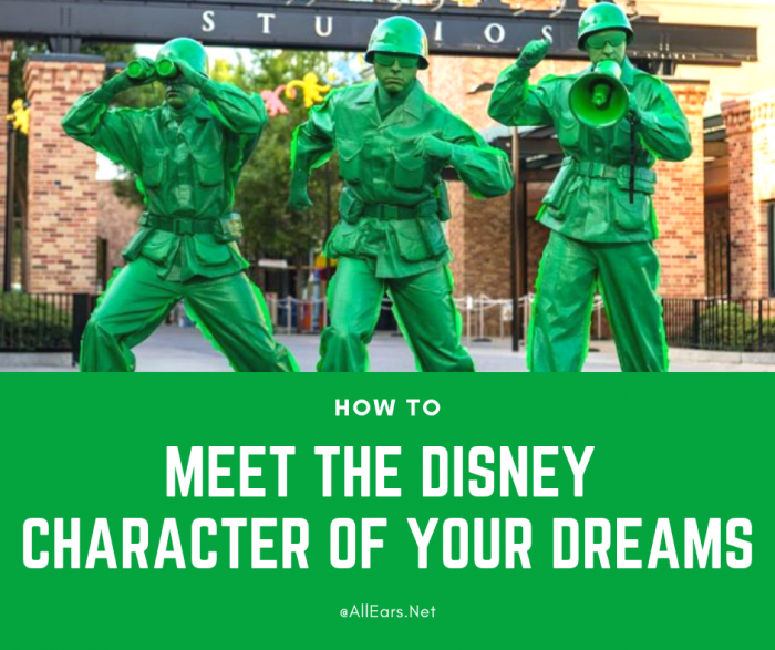 Meet the Disney character of your dreams