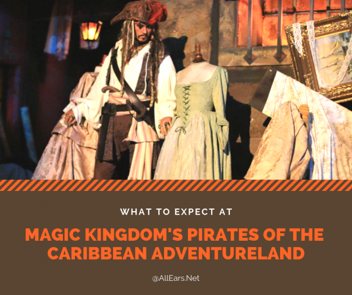 Disney World's Pirates of the Caribbean Adventureland