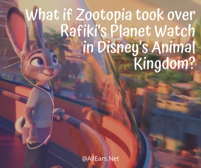 Rafiki's Planet Watch Zootopia