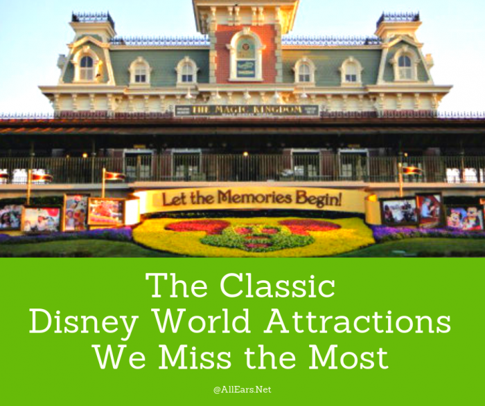The Classic Disney World Attractions We Miss the Most