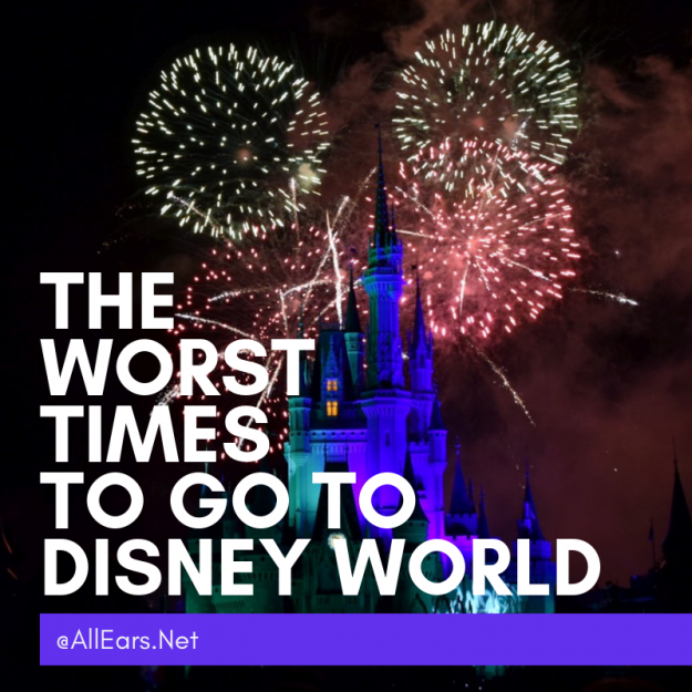 The Worst Times To Go To Disney World