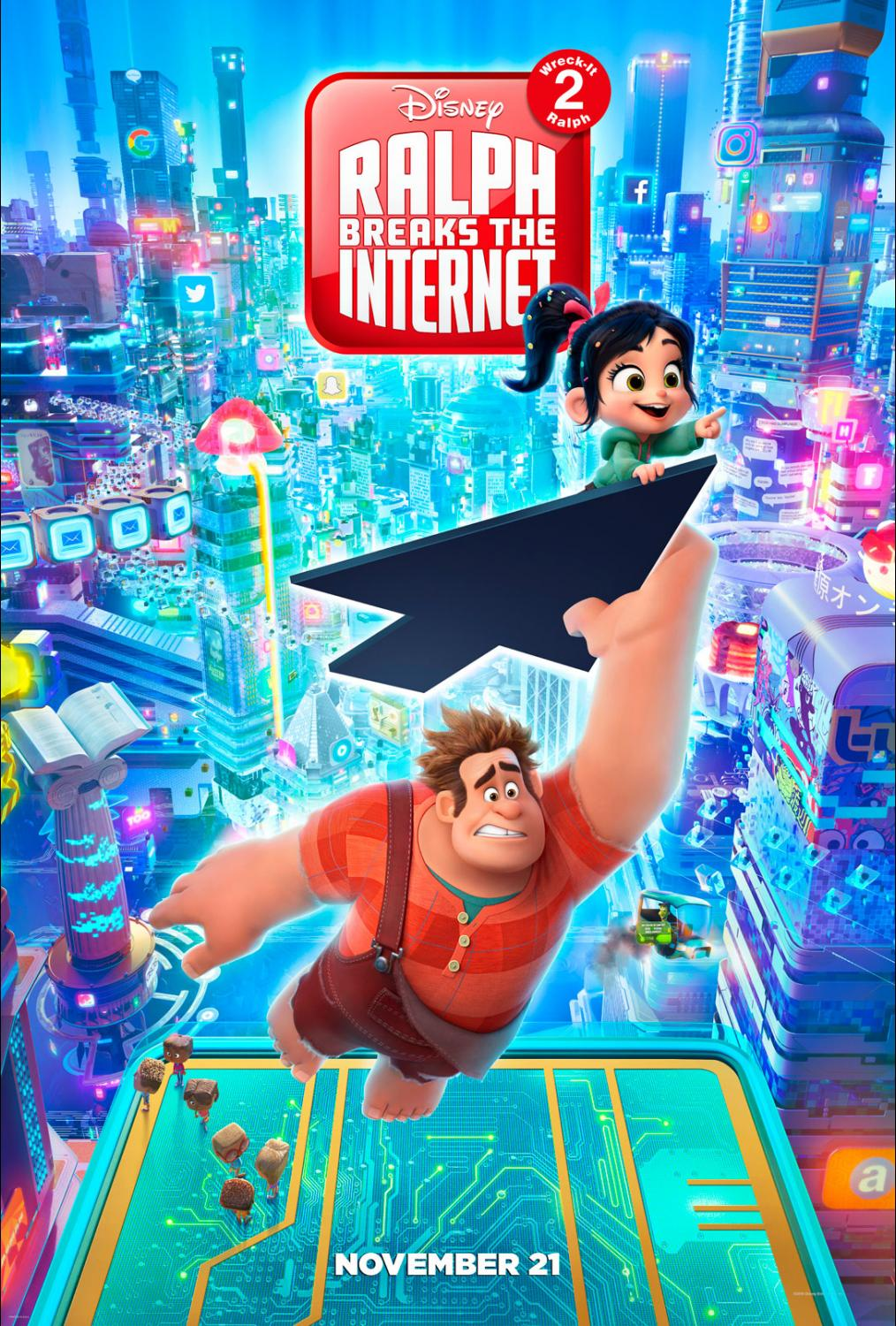 "More on ""Wreck-It Ralph 2: Ralph Breaks The Internet"" - Early ..."