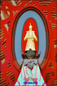 Gold Buddha on Chinese Theater