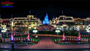 Main Street USA Christmas Night