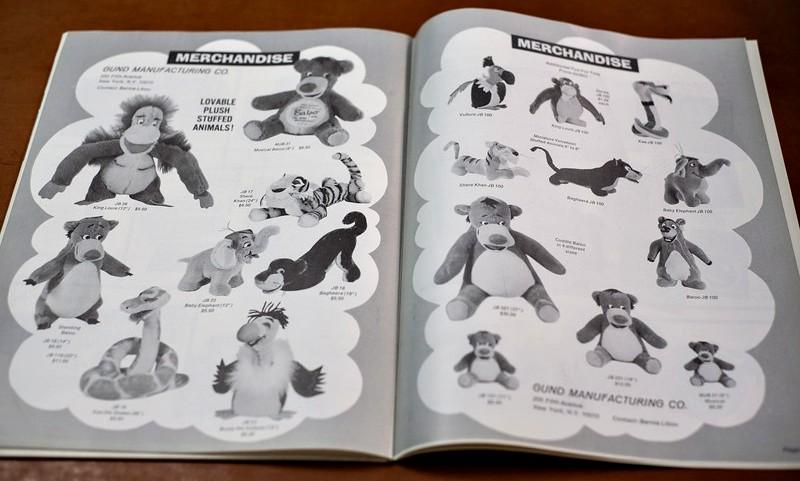 Jungle Book Exhibitor Campaign Book Merchandise