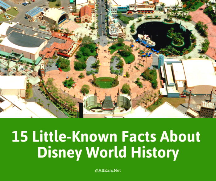 15 Little-Known Facts About Disney World History