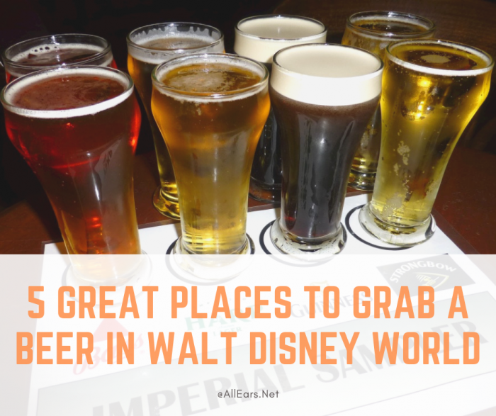 5 Great Places To Grab a Beer at Disney World