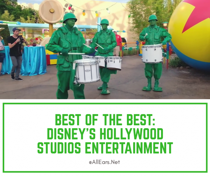 Disney Hollywood Studios Entertainment