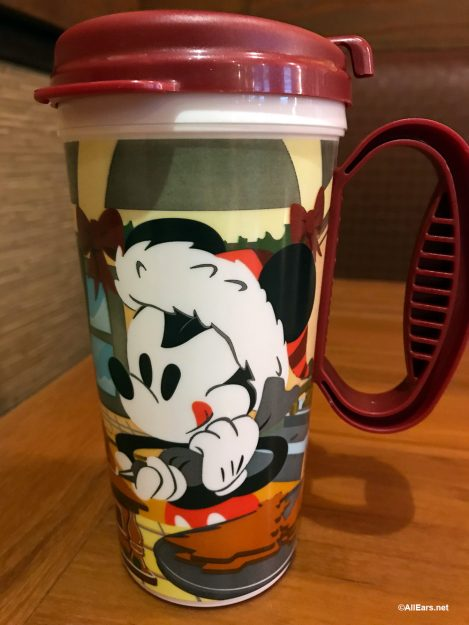 Disney World Refillable Mugs Get a Holiday Makeover