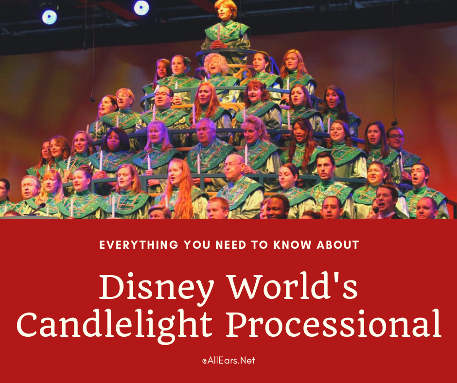 Candlelight Processional at Epcot in Walt Disney World