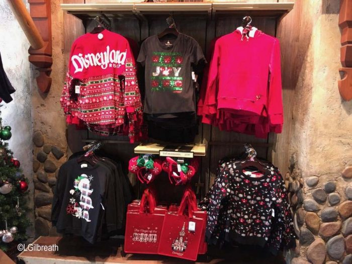 Disneyland 2018 Holiday Apparel
